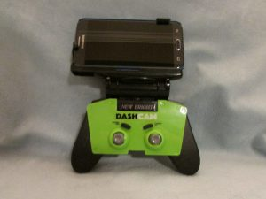 new bright RC VR with phone attached to controller