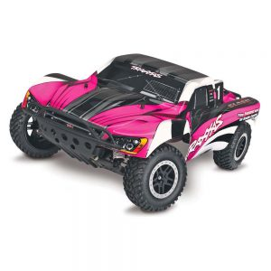 pink traxxas slash