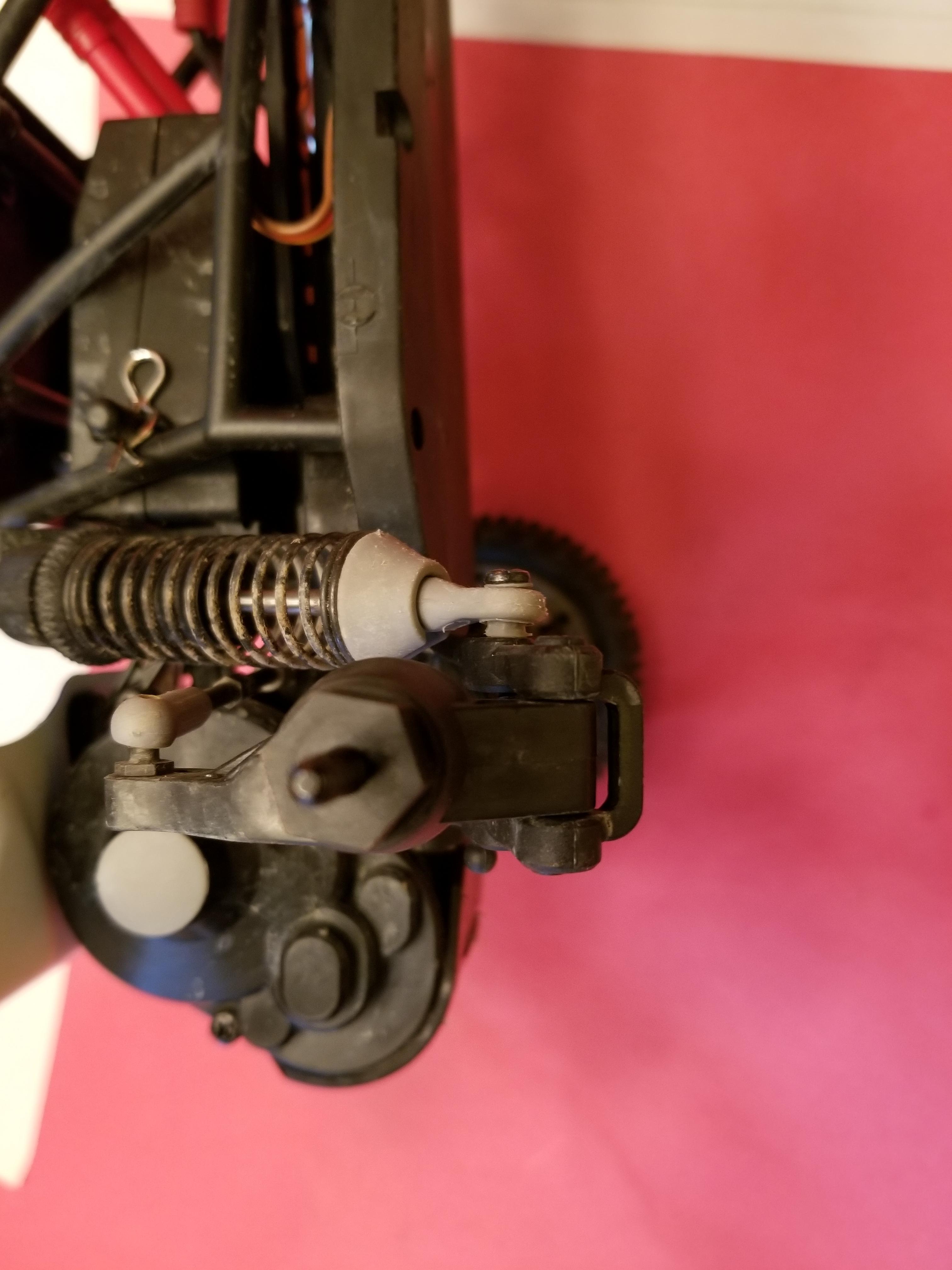 12 mm hex hub on Redcat Racing Cyclone XB10