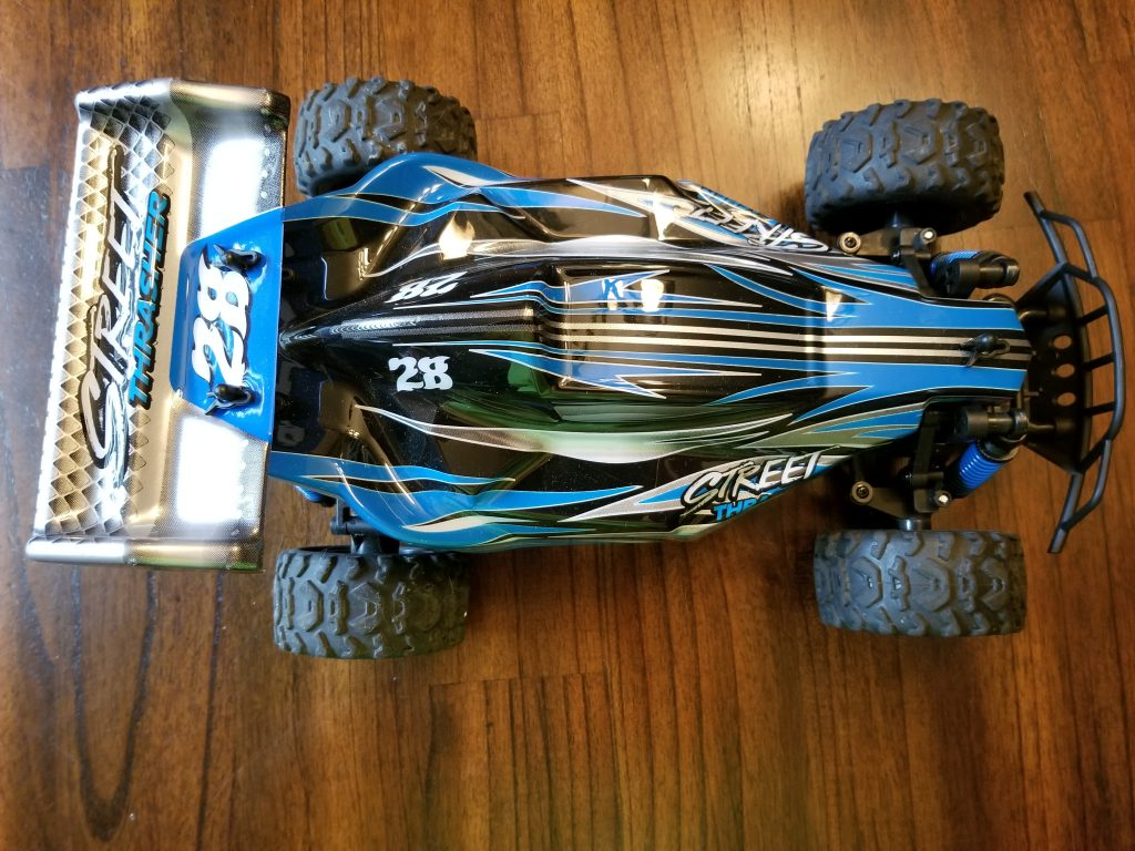 Sharper Image Street Thrasher suspension and body