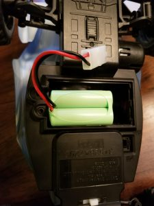 Sharper Image Street Thrasher battery compartment