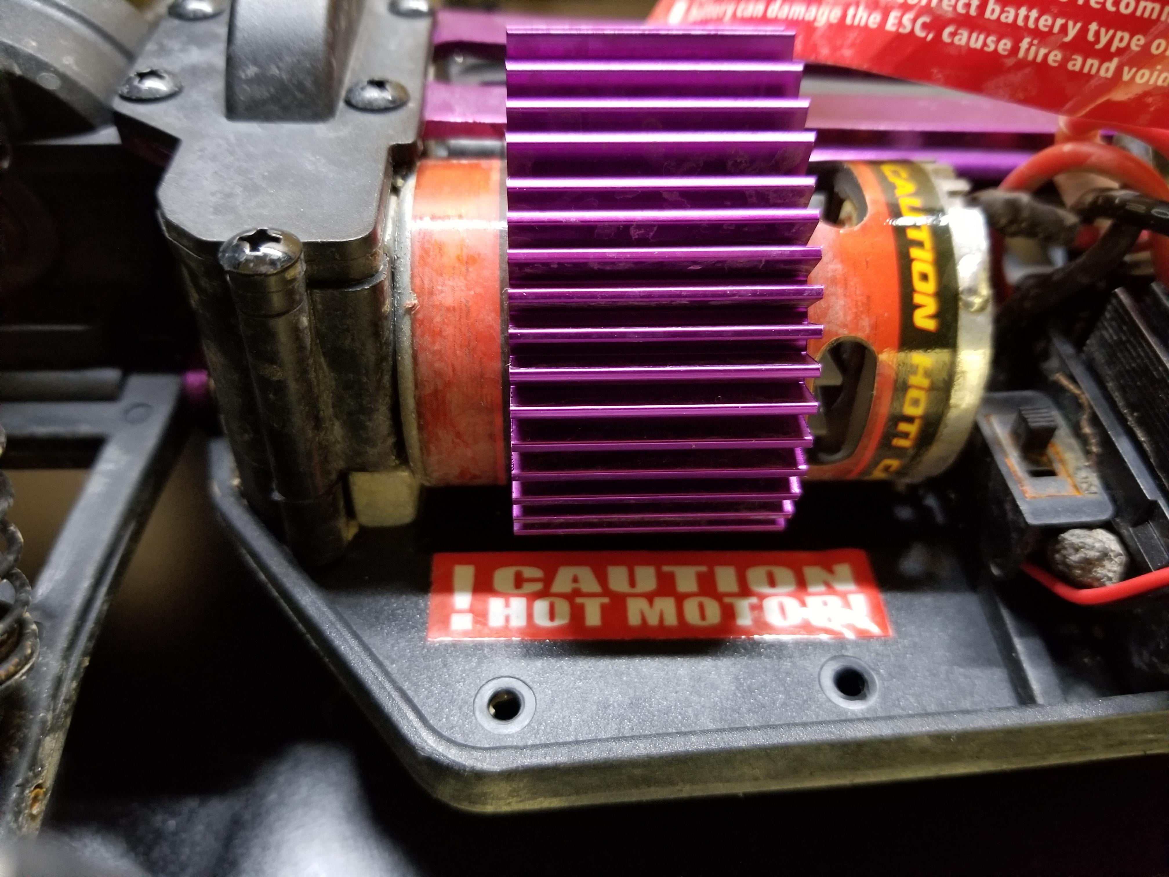 Redcat Racing Volcano EPX motor