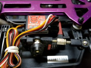 Volcano EPX steering servo and receiver