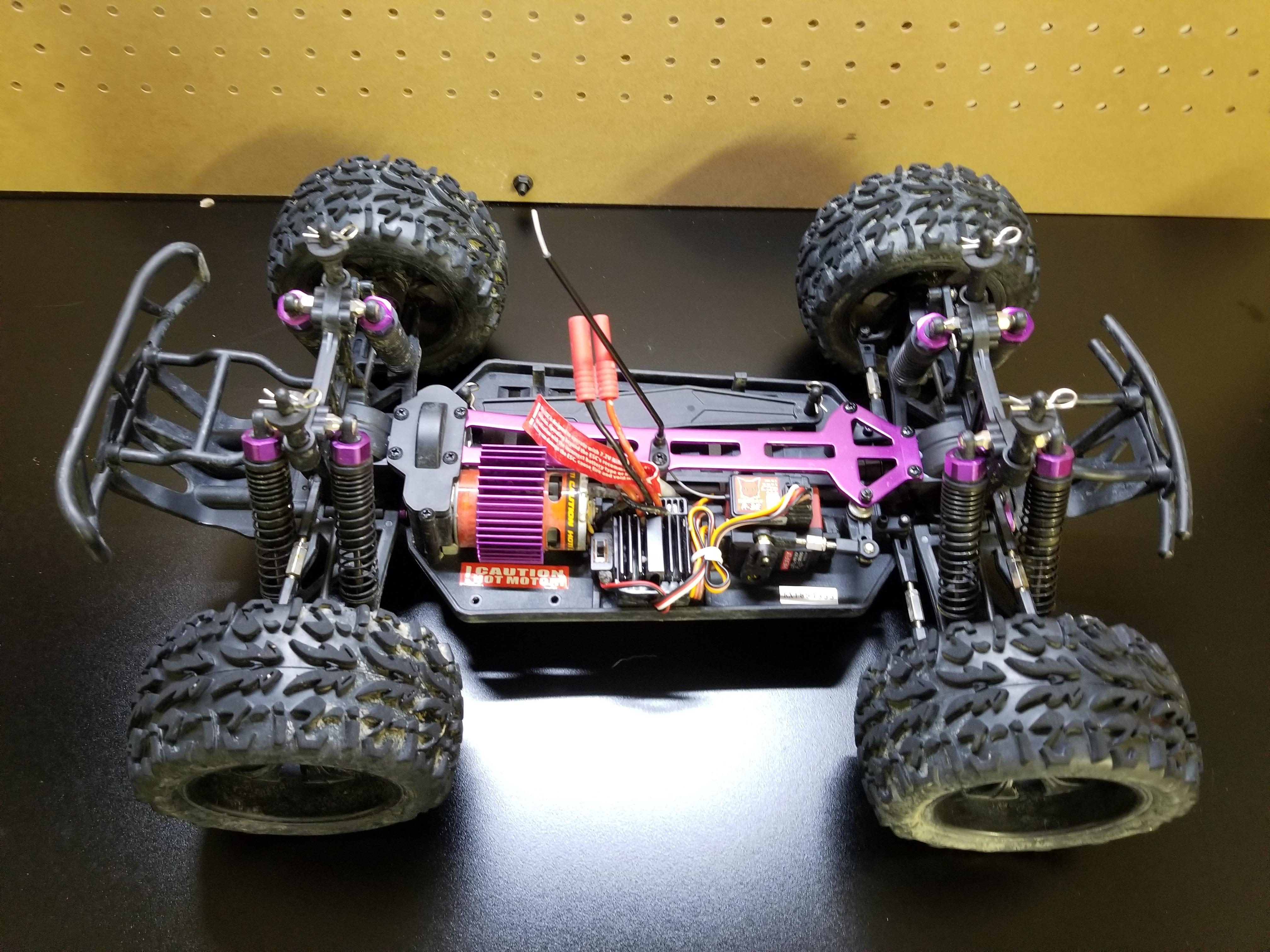 Volcano EPX 4x4 suspension