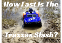 How fast is the Traxxas Slash