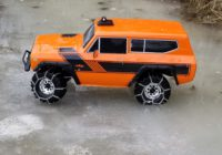 Mohero RC Tire Chains On Redcat Gen 8