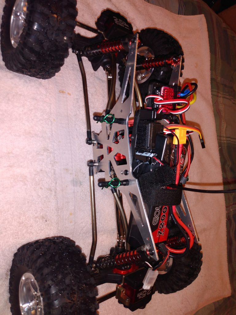 redcat everest 10 upgraded chassis
